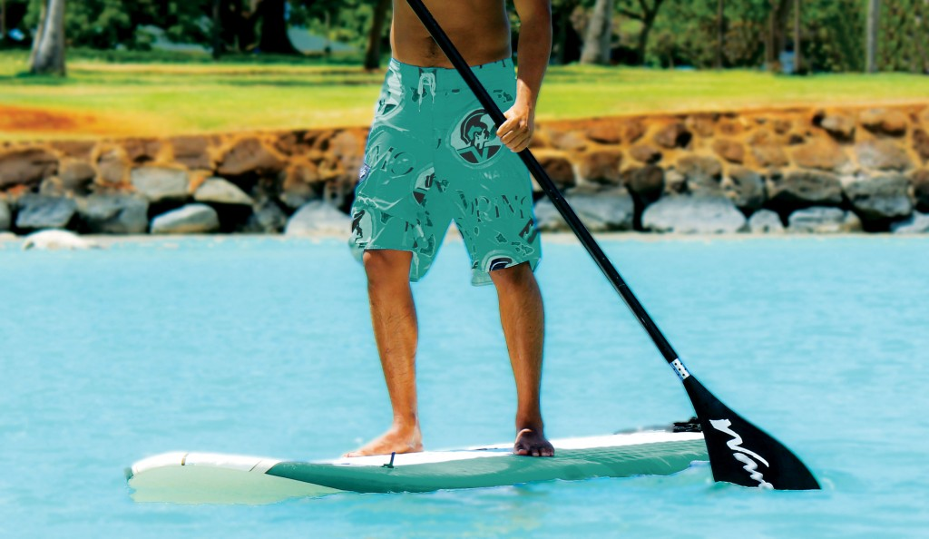 Oahu Stand Up Paddle Boarding Hawaii Beach Time